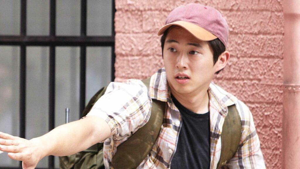 steven yeun season one the walking dead sacrifices actors had to make